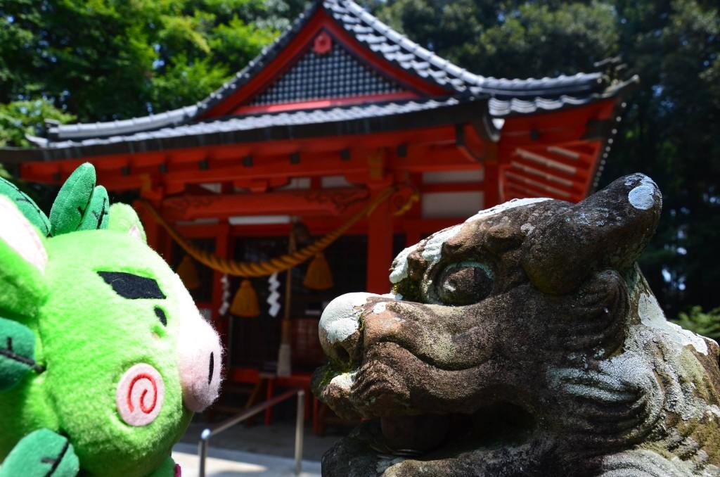 郡山八幡神社狛犬