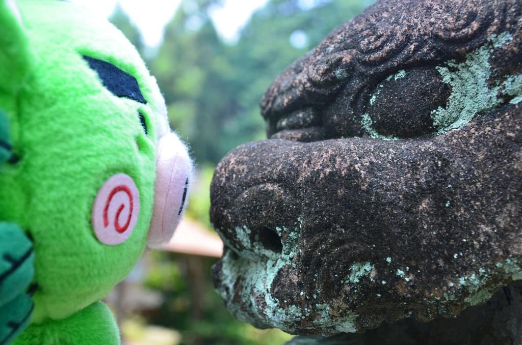 忠元神社狛犬